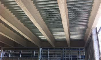 Mortero Perlifoc para ignifugaciones de estructuras de acero