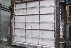 División vertical de chapa para compartimentación