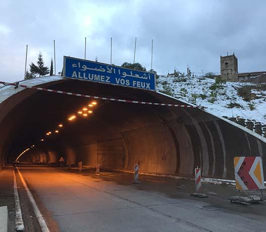 Mortero ignifugador para protección pasiva contra fuego en túneles