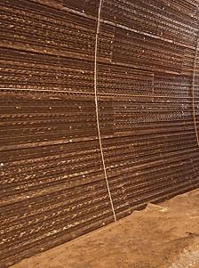 Acabado mortero ignífugo para túneles