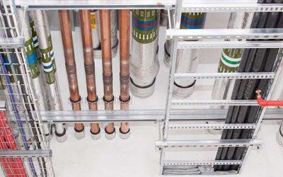 Ignifugación de paso de instalaciones