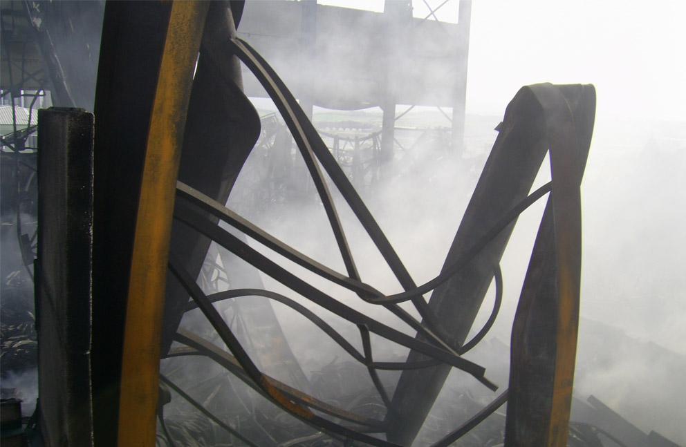 Protección contra el fuego de estructuras