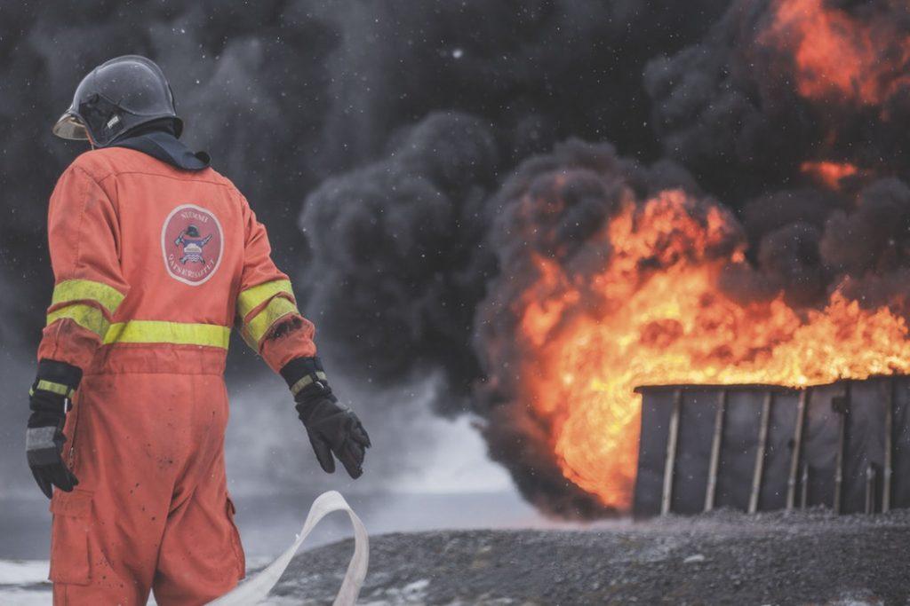 Protección pasiva contra el fuego